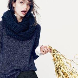 J.crew infinity scarf knit NWOT